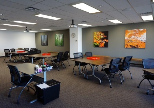 One of the Training Rooms at LSI Office